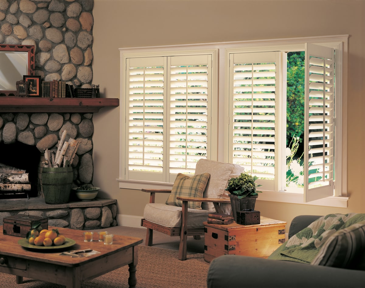 Living Room Apex NC Window Blinds Shades And Shutters