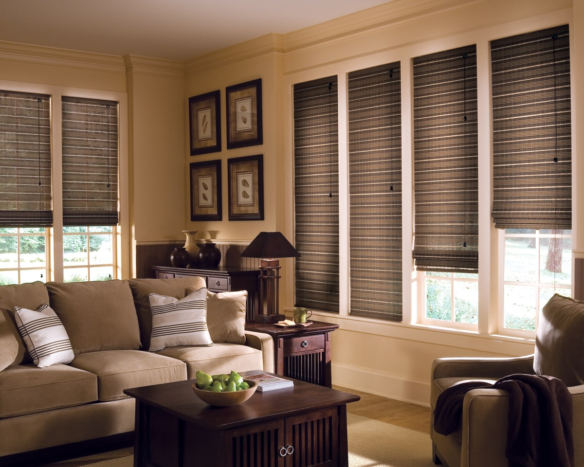 Living Room Morrisville NC Window Blinds Shades And Shutters